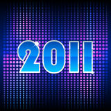 Blue background for new year. And for Christmas Royalty Free Stock Image