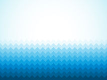 blue background with ocean waves and vignette Stock Photos