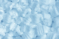 Blue foam Royalty Free Stock Photos