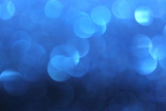 Blue Background. A pretty blue bokeh effect background stock photography