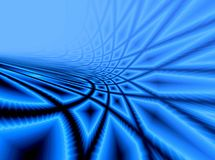 Blue background with rays Stock Photos