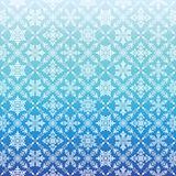 Blue background with snow crystal. Royalty Free Stock Photography