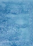 Blue background with soft blurred sea salt grunge texture at the borders