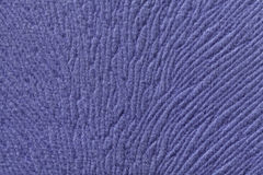 Blue background from soft textile material. Fabric with natural texture. Royalty Free Stock Images