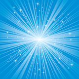 Blue background with stars. Abstract backgrounds with stars, illustration Royalty Free Stock Images