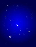 Blue background with stars. Vector illustration vector illustration