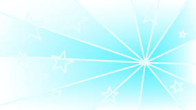 Blue background with stars and rays Royalty Free Stock Photography