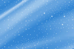 Blue Background With Stars Stock Photos