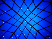 Blue background with stars Royalty Free Stock Image