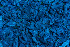 Blue background of the stones and bark Stock Image