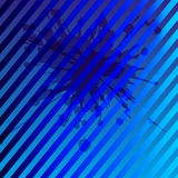 Blue background with stripe pattern Royalty Free Stock Photo