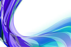 Blue background. Sweet abstract blue background ligne Royalty Free Stock Photo