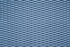 Blue background texture of basketwork. Royalty Free Stock Photography