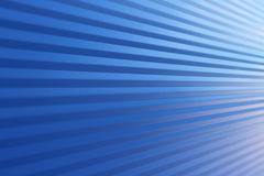Blue background of texture metal wall with lines of shadows and light. Blue background of texture metal wall with angle lines of shadows and light Stock Photography