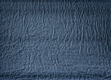 Blue gauze. Textured image. Royalty Free Stock Photo