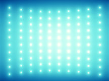 Blue background with tiny glimmers. Blue background with tiny light bulbs Royalty Free Stock Photos