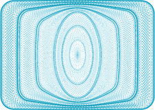 Blue background. Background used for vouchers, and any type of secured documents Stock Photos
