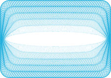 Blue background. Background used for vouchers, and any type of secured documents Royalty Free Stock Image
