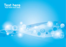 Blue background Vector Royalty Free Stock Image