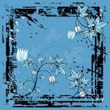 Blue background, vector Stock Photos