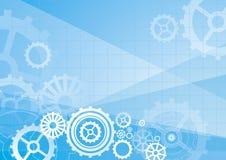 Blue background, vector stock illustration
