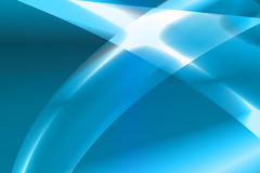 Blue background. Vector illustration abstract blue background with glow curve Stock Photo