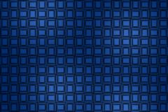 Abstract blue background, metal panels. Blue background of a wall made of metal plates, panels, distortion of space stock illustration