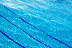 Blue background water Royalty Free Stock Photo