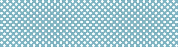 Blue background with white dots. Wide background banner blue with with white dots Royalty Free Stock Photos