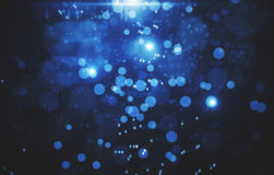 Blue background with white spots Royalty Free Stock Photography