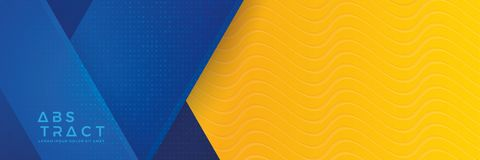 Free Blue Background With Orange And Yellow Color Composition In Abstract. Abstract Backgrounds With A Combination Of Lines And Circle Stock Photography - 155317362
