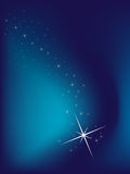 Blue Background With Stars Royalty Free Stock Photography