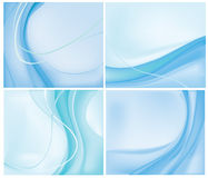 Blue backgrounds Stock Photography