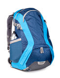 Blue backpack Royalty Free Stock Images