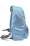 Blue backpack Stock Image