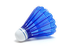 Blue Badminton Shuttlecock (Birdie) Stock Photography