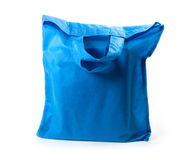 Blue bag Royalty Free Stock Photo