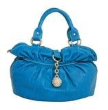 Blue bag Stock Images