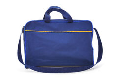 Blue bag. On white background Royalty Free Stock Photography