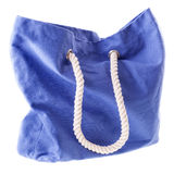 Blue bag Royalty Free Stock Image