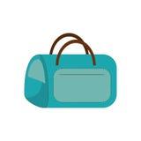 Blue bag carrier pet comfort. Vector illustration eps 10 Royalty Free Stock Image