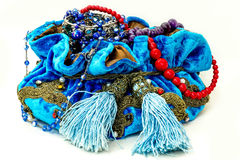 Blue bag Royalty Free Stock Images