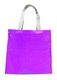 Blue bag nylon Stock Images