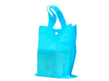Blue Bag. Use for Shopping Royalty Free Stock Photography