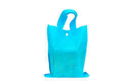 Blue Bag. Use for Shopping Royalty Free Stock Photos
