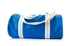 This is a blue bag. Royalty Free Stock Photo