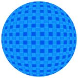 Blue Ball Royalty Free Stock Photography