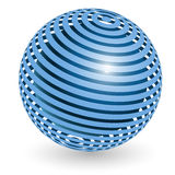 Blue ball Royalty Free Stock Photos
