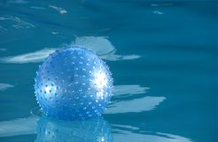 Blue ball Stock Image