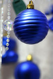 Blue ball Royalty Free Stock Images